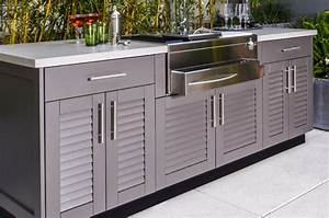 Outdoor Kitchen Cabinets - Brown Jordan Cabinetry