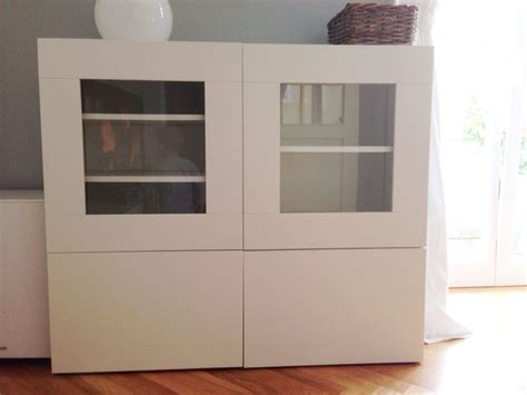 Besta Ikea Vitrine by Gebraucht Ikea Best 229 Regal Vitrine Mit Glast 252 Ren In 80636