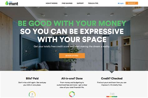 examples  brilliant website homepage design
