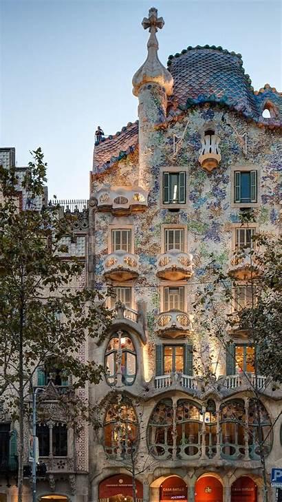 Barcelona Gaudi Spain Portrait Casa Museum 4k