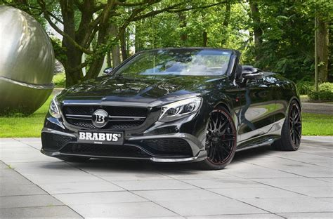 Amg S63 Cabriolet by Official 850hp Brabus Mercedes Amg S63 Cabriolet Carhoots