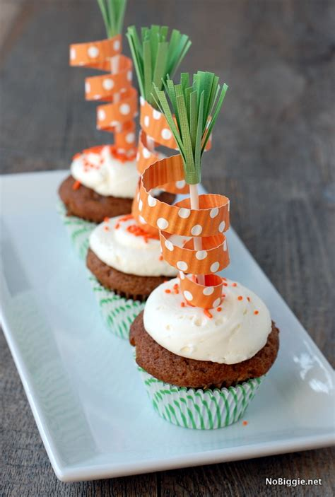 carrot cupcake toppers fun family crafts