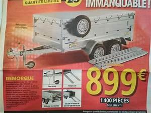 Roue De Brouette Brico Depot : remorque double essieu 256x134x40 bache rampe roue ~ Dailycaller-alerts.com Idées de Décoration