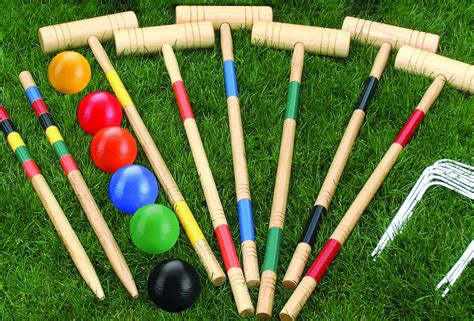 Backyard Croquet by Baden Croquet Set The Billiards