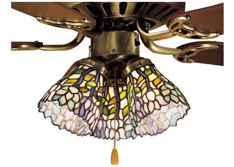 fan light shades meyda 4 inch w wisteria fan light shade ceiling