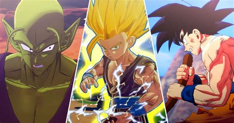 Dragon ball z / cast Dragon Ball Z Kakarot: Every Playable Character (Ranked By How Much You Get To Play Them)