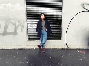 Elli Drake - Dr. Martens Boots Bershka Boyfriend Jeans Zara Tshirt Thriftshop Oversized ...