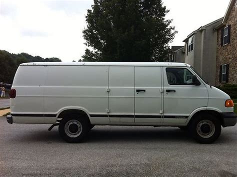 motor auto repair manual 2003 dodge ram van 2500 seat position control buy used 2003 dodge 3500 series maxi van 1 ton in west chester pennsylvania united states