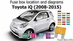 Fuse Box Location And Diagrams  Toyota Iq  2008