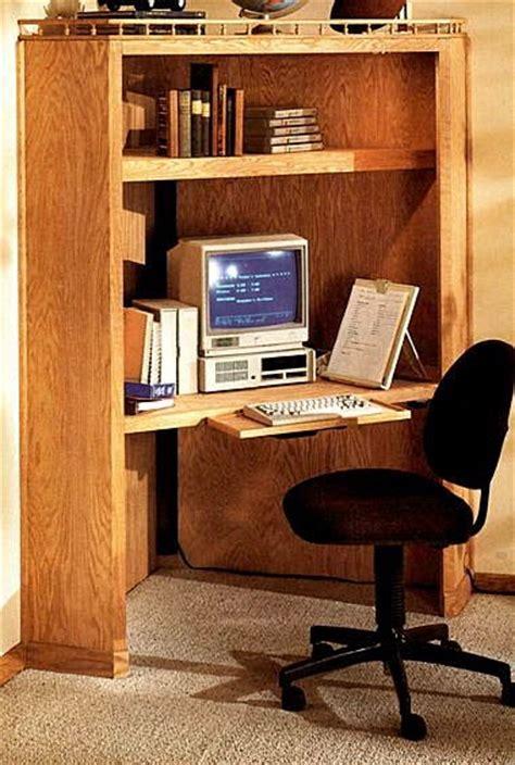 corner desk  woodworking project plans
