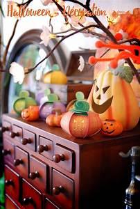 November Calendar Page Halloween Décoration Papier Bonbon