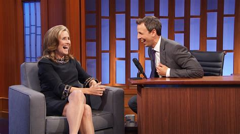 late night  seth meyers interview meredith