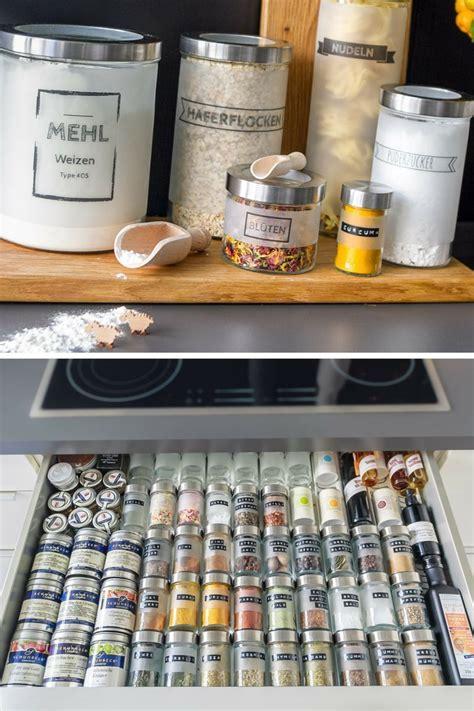 Aufbewahrung  Schublade  Ikea  Küche Pinterest