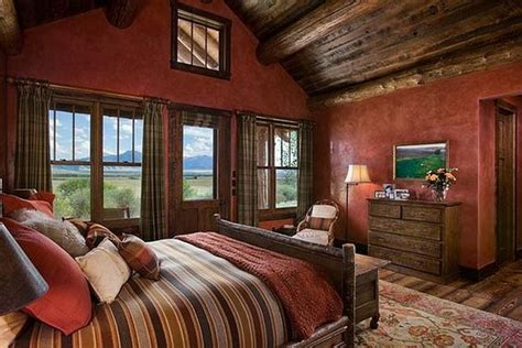 rustic cabin painting for rustic bedroom decorating my