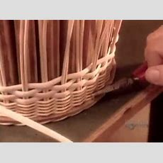 How To Make Wicker Products {www Downloadshiva Com} Youtube