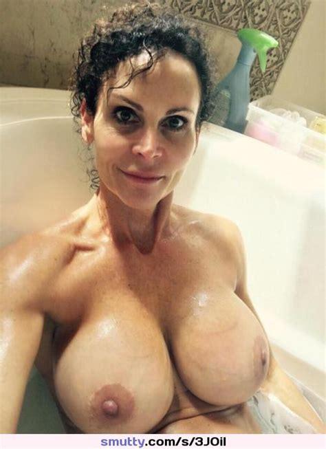 Big Tits Mom Takes A Bath Amateur Milf Mom Wife Busty