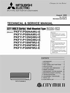 Mitsubishi Electric Air Conditioner Manual Par 21maa