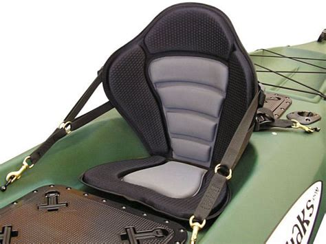 deluxe kayak fishing seats   detachable fishing pack