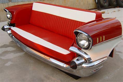 Restored Classic Car Furniture And Decor