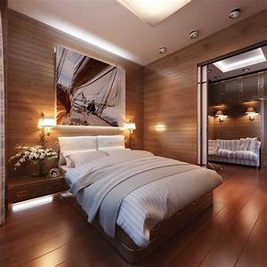 Cabin, Style, Bedroom, Decor