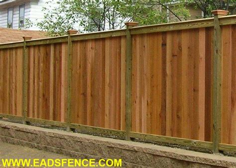 pictures of privacy fences eads fence co your super fence store wood privacy fences