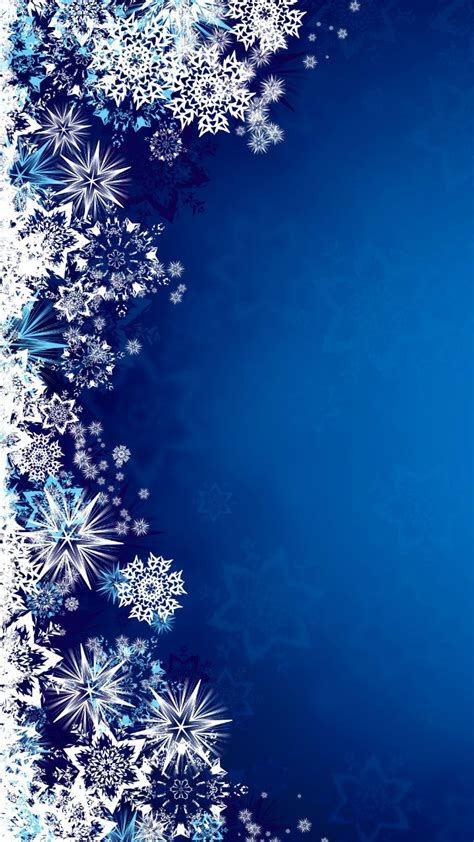 Snowflakes Wallpaper 50 Best Phone Wallpapers And Backgrounds