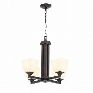 Hampton bay mattock light oil rubbed bronze chandelier