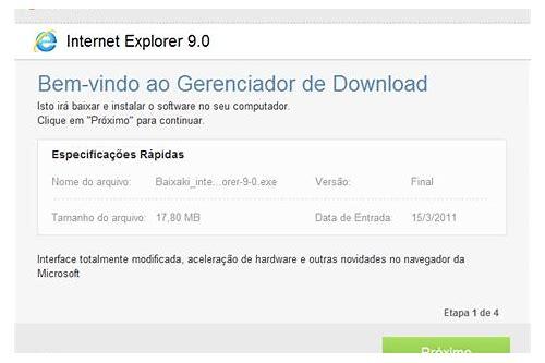 internet explorer não pode baixar rawas