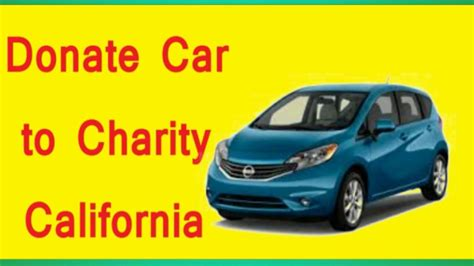 how to get a donated car donate car to charity california buy car donated car