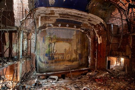 palace theater  abandoned theater  gary