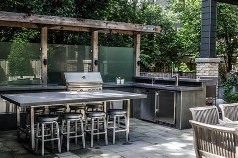 contemporary outdoor kitchens photo page hgtv 2541