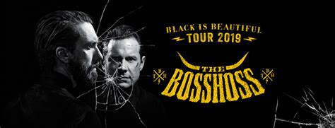 bosshoss black is beautiful the bosshoss 2019 auf quot black is beautiful quot tour oeticket live news