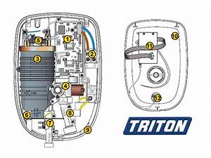 Shower Spares For Triton Opal 2