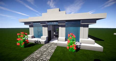 Minecraft Moderne Häuser Zum Nachbauen by Kleines Und Einfaches Modernes Haus In Minecraft Leichtes