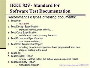 test strategy template ieee 829 choice image template With ieee 829 test strategy template