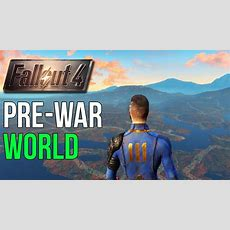 Fallout 4 Prewar World Exploration (outside Map) Youtube