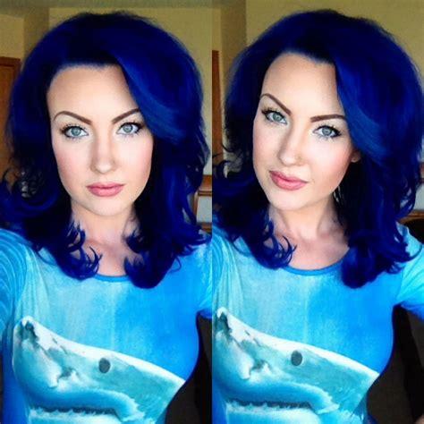 Custom Pravana Blue Vivids And Pastel Mix On Myself Me