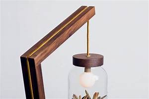 Standing Lamp with Hanging Potted Plant Shade Home