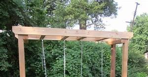 Weieroriginal Arbor Swing Set Pergola Swing Plans Images