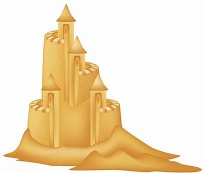 Sand Castle Clipart Sandcastle Cartoon Cliparts Clip