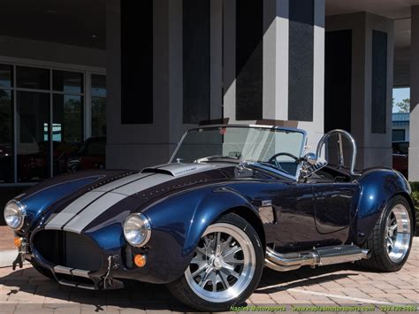 backdraft iconic edition cobra roadster reincarnation