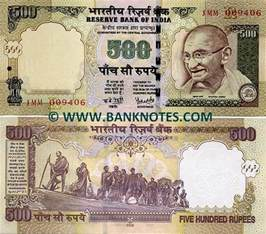 Mahatma Gandhi Indian Currency