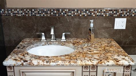 verniz tropical granite bathroom vanity