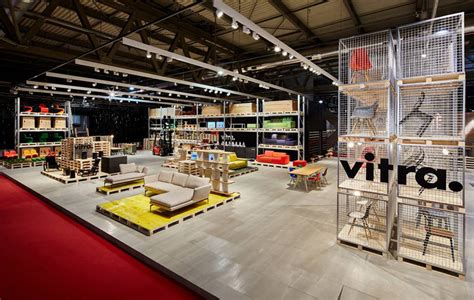 Vitra Factory Sale 2017 by Schemata S Temporary Warehouse Showcases Vitra Furniture