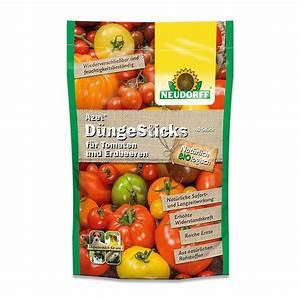 Dünger Für Tomaten : neudorff azet d ngesticks f r tomaten und erdbeeren k beltomatend nger d nger d ngesticks ~ Watch28wear.com Haus und Dekorationen