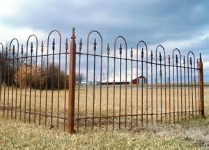 wrought iron fence 3 foot