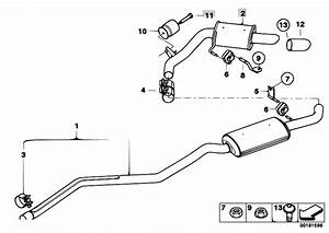 Original Parts For E82 120d N47 Coupe    Exhaust System