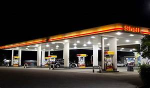 Led Canopy Lights For Gas Station