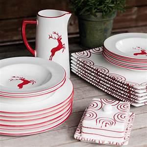 Gmundner Keramik Hirsch : rubinroter hirsch wasserkrug 1 2l gmundner keramik manufaktur ~ Watch28wear.com Haus und Dekorationen