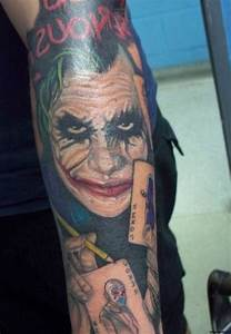 Joker Tattoos Designs, Ideas and Meaning | Tattoos For You